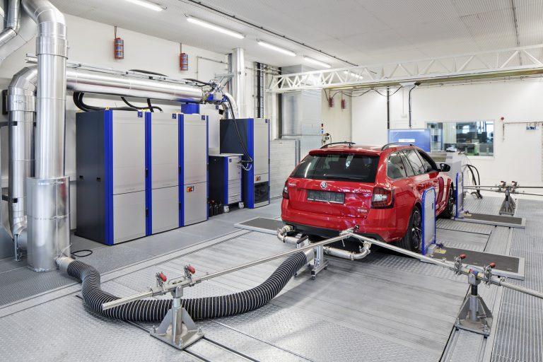 Měření Emisí Auto Dubina