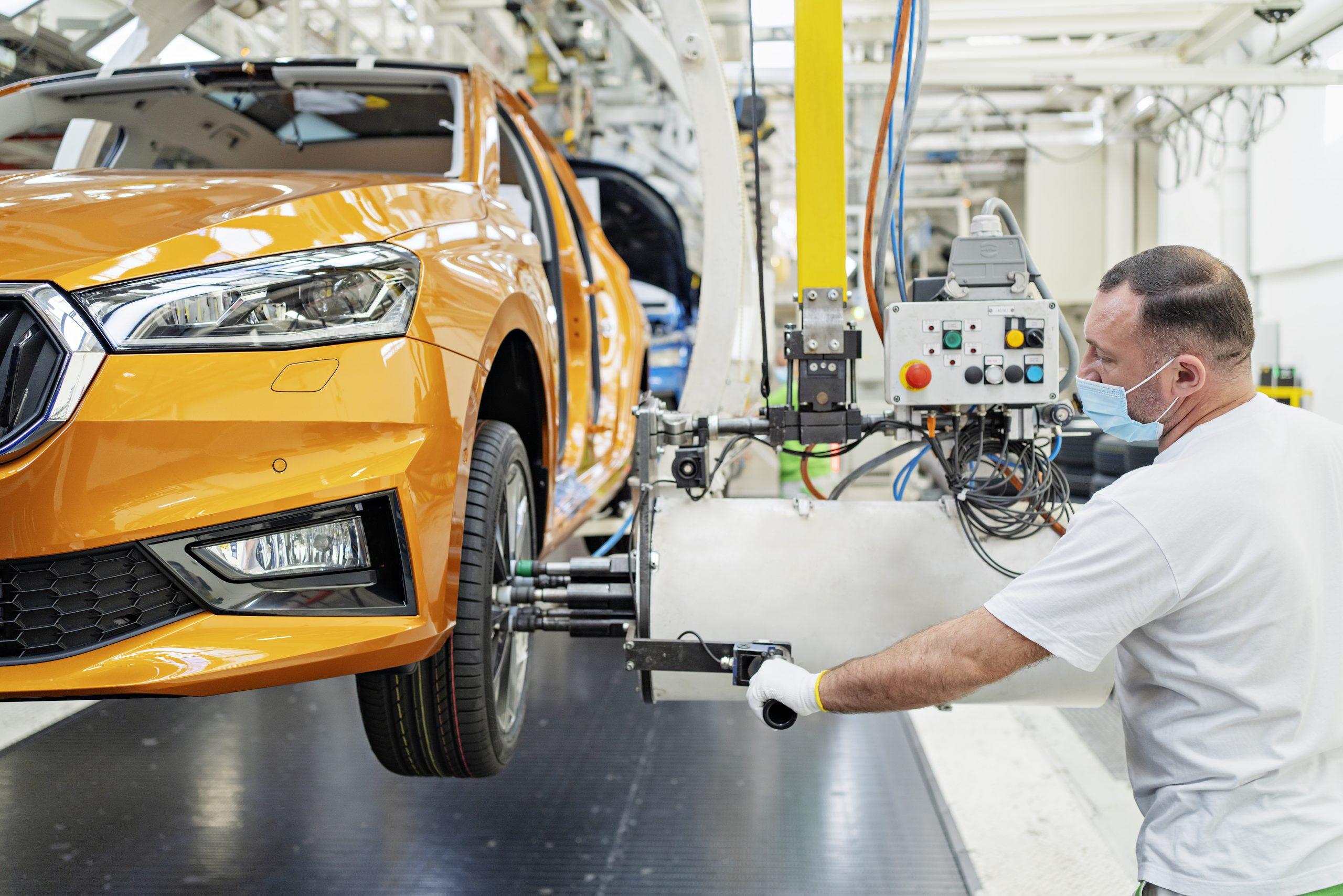Zahájení výroby nového modelu ŠKODA FABIA